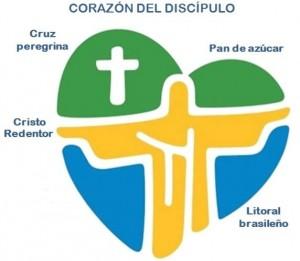 logo oficial JMJ Rio 2013 explicado